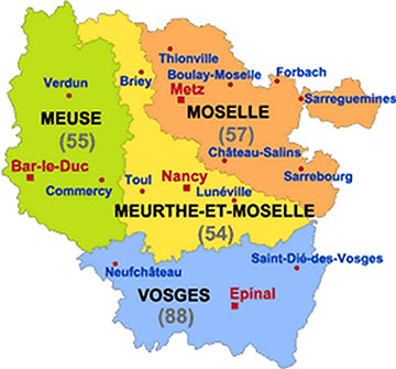 Intervention Meurthe-et-Moselle Moselle Meuse Vosges